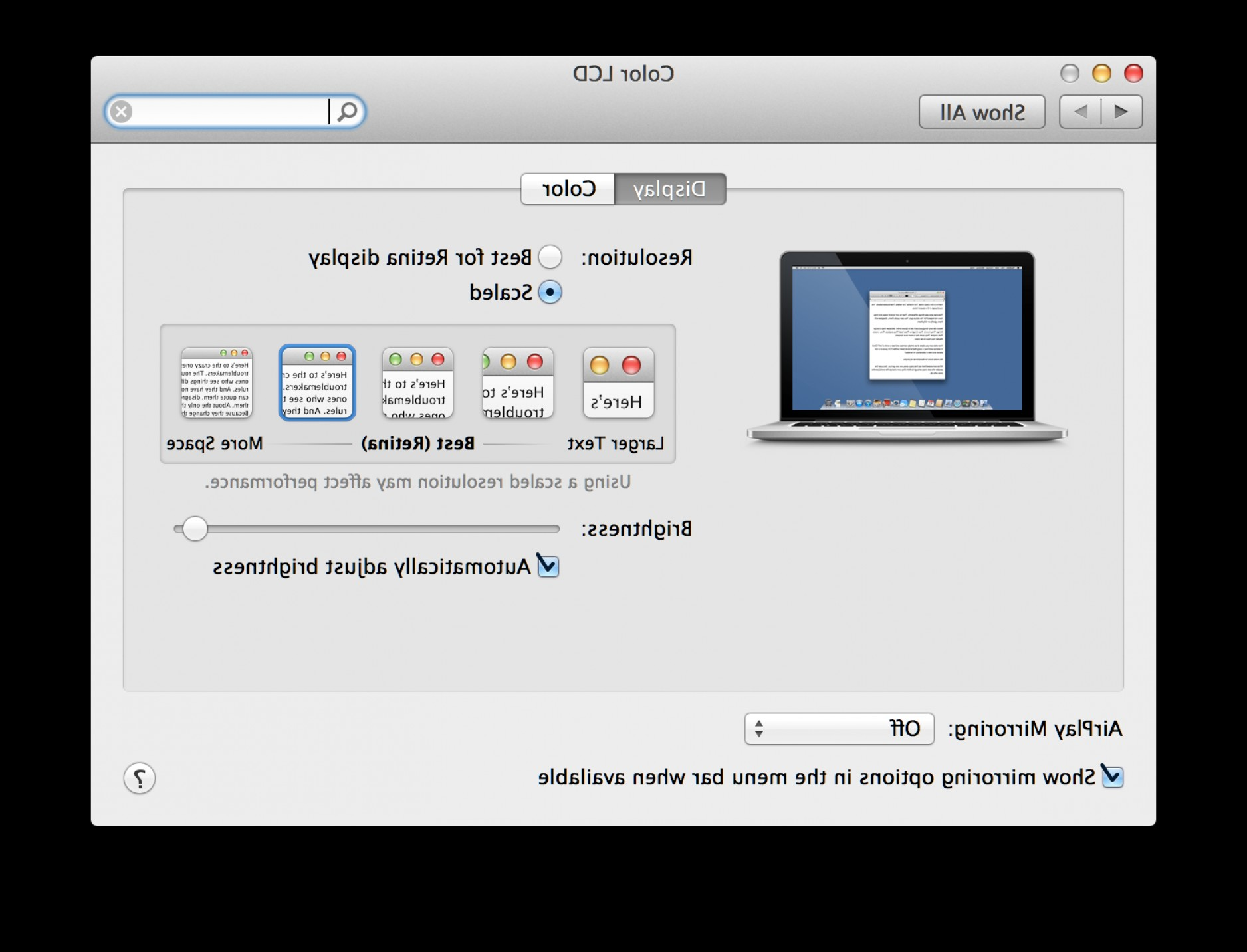 Vector Monitors Mac: Retina Display Support For Mac Os Ios And X