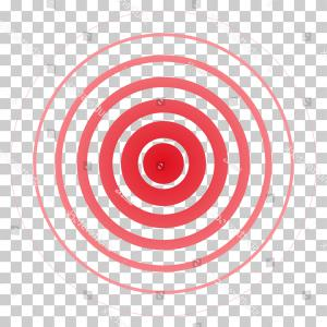 Killer Dart Board Vectors: Assassination Looking Through Sniper View Vector