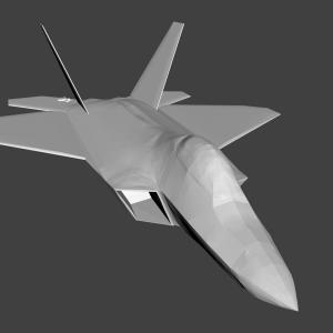 F-22 Thrust Vectoring Angle: Replica Lockheed Martin F Raptor
