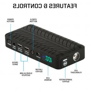 Vector Jump Starter AC Adapter Charger: Ic V A Smart Automotive Battery Charger