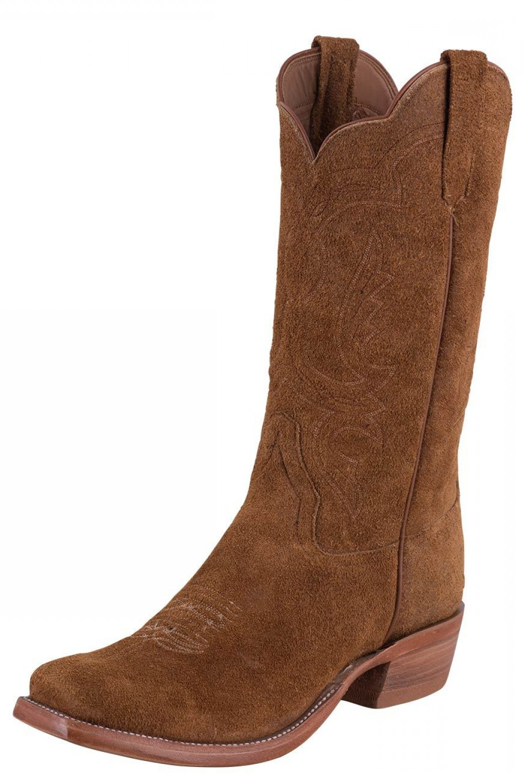 Two Cowgirl Boots Vector: Rios Of Mercedes Rust Crazyhorse Rough Out Cowboy Boots