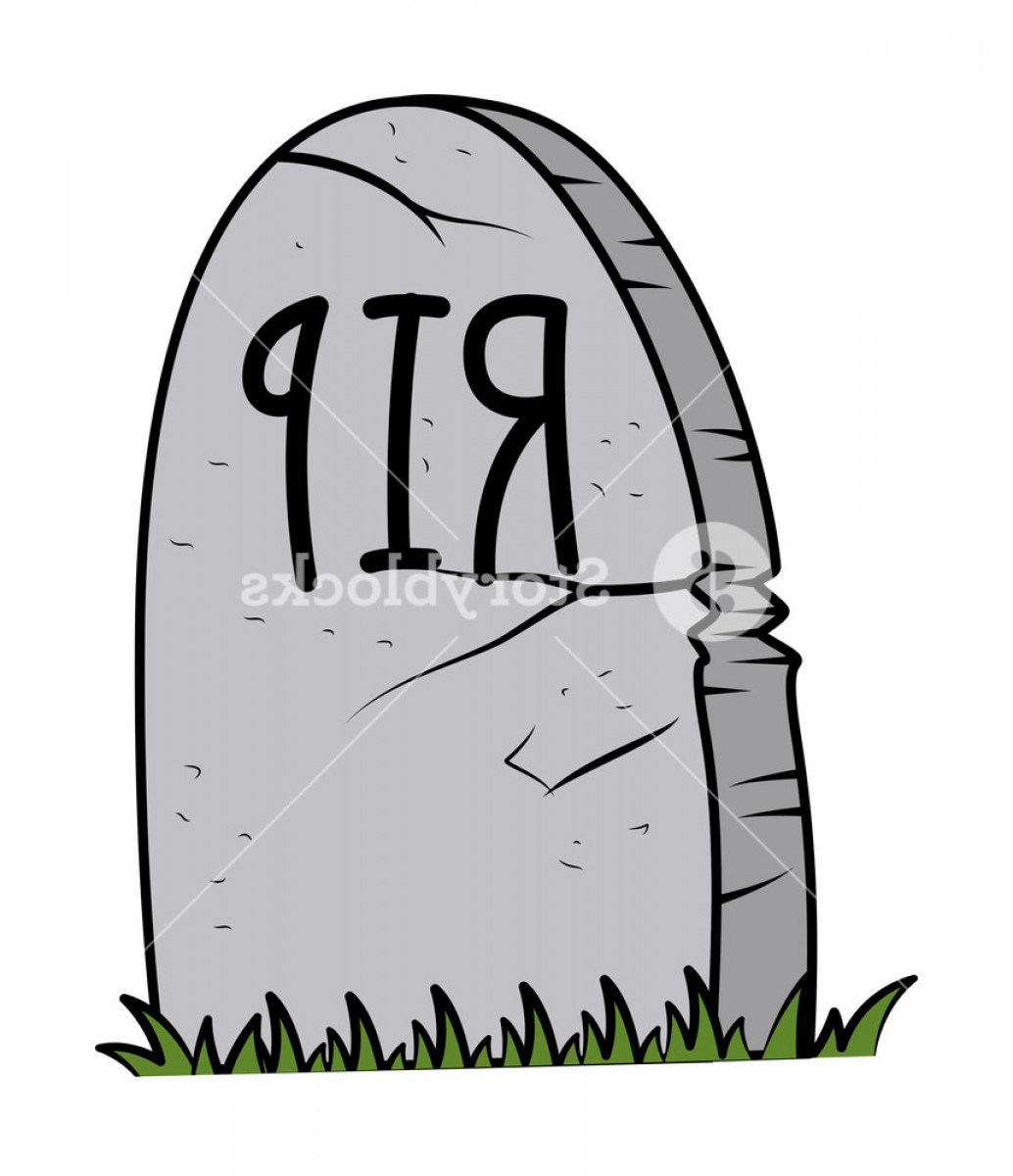 Gravestone Black And Whit Vector JPEG: Rip Grave Cartoon Halloween Vector Illustration Bqqvetuxu Jgrly
