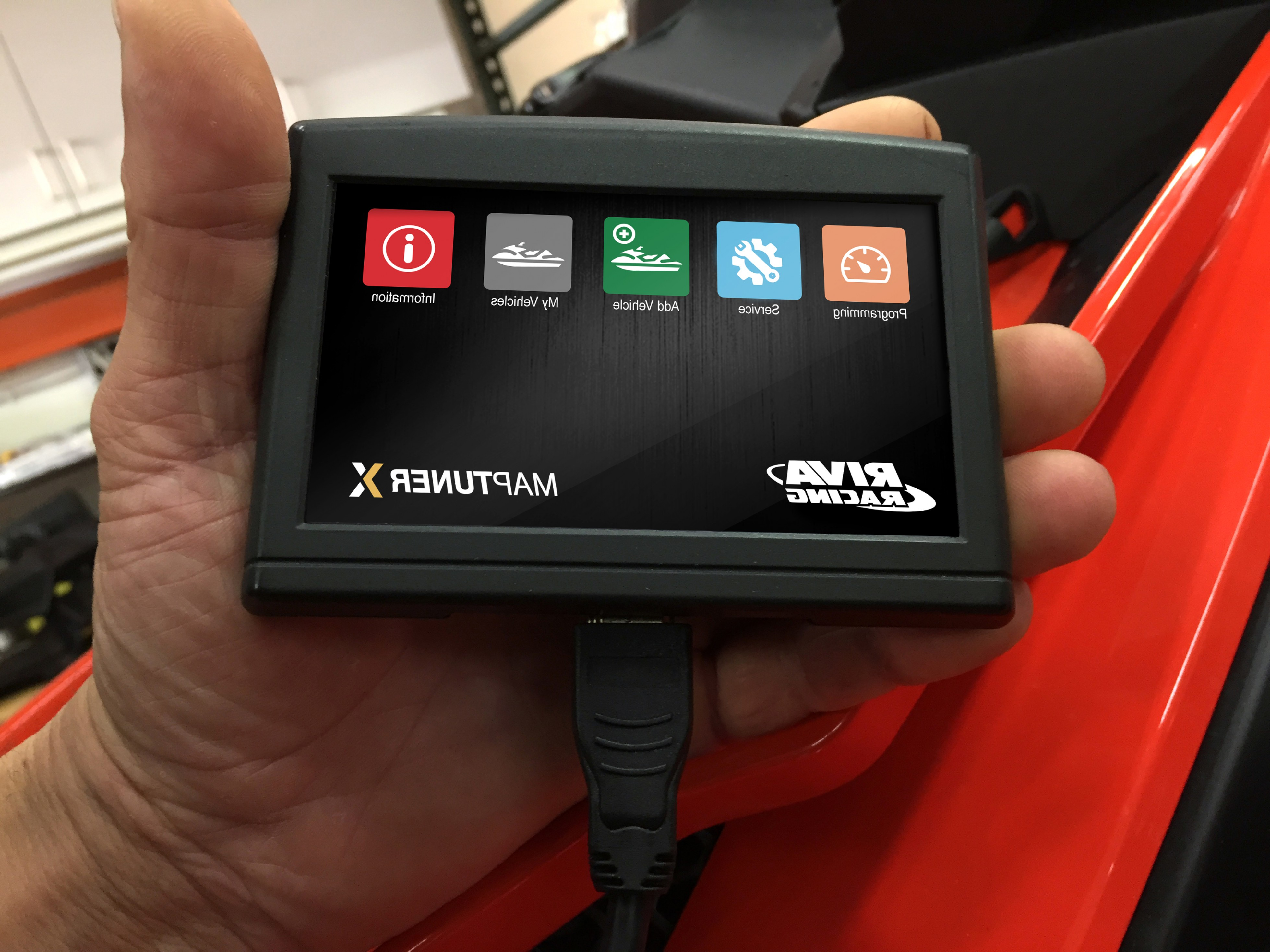 ECU Yamaha Vector: Riva Racings Maptunerx Bundle Delivers Instant Plug In Horsepower