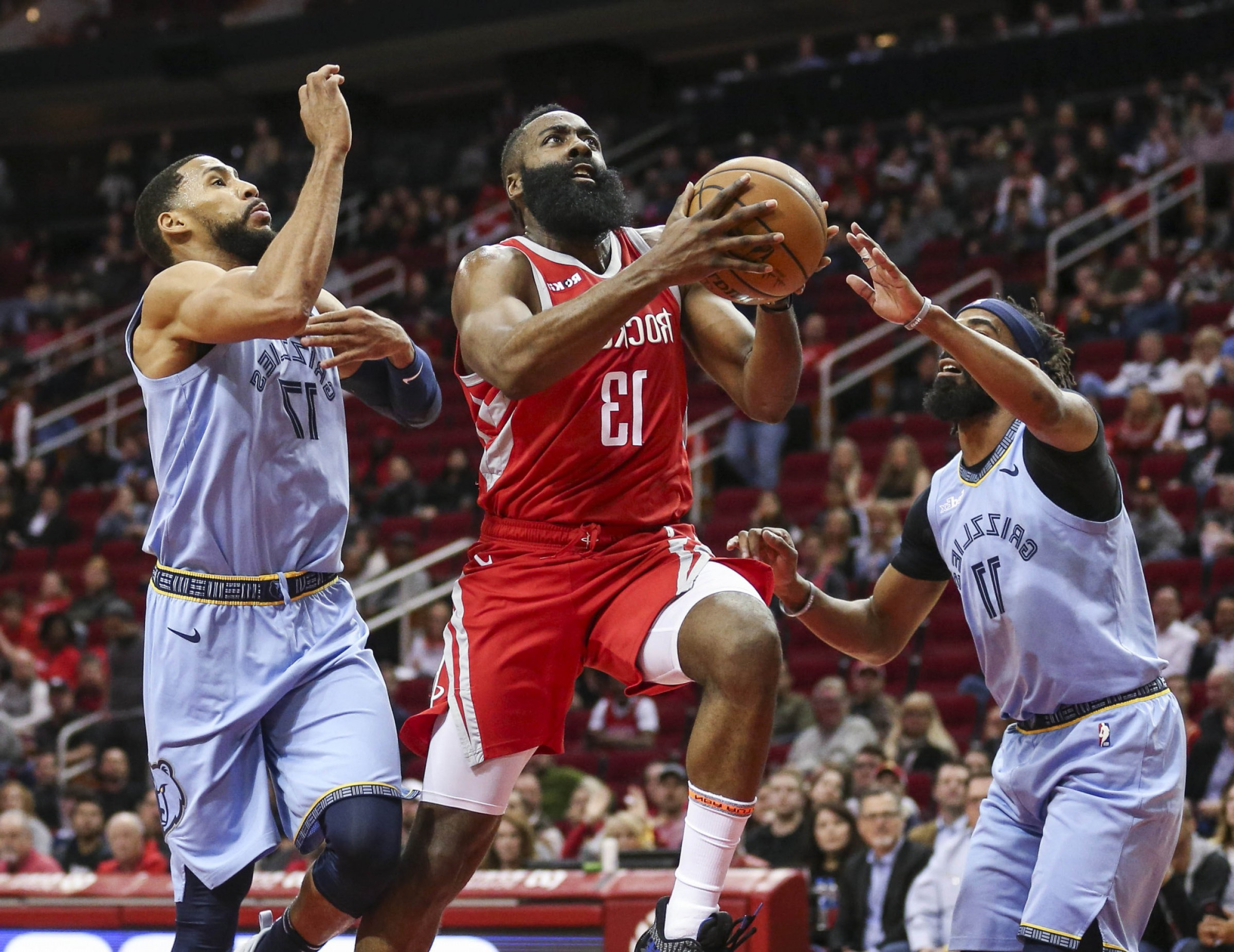 Houston Rockets Logo Vector: Rockets James Harden Rebounds Woeful Shooting Game Drops Grizzlies Rout