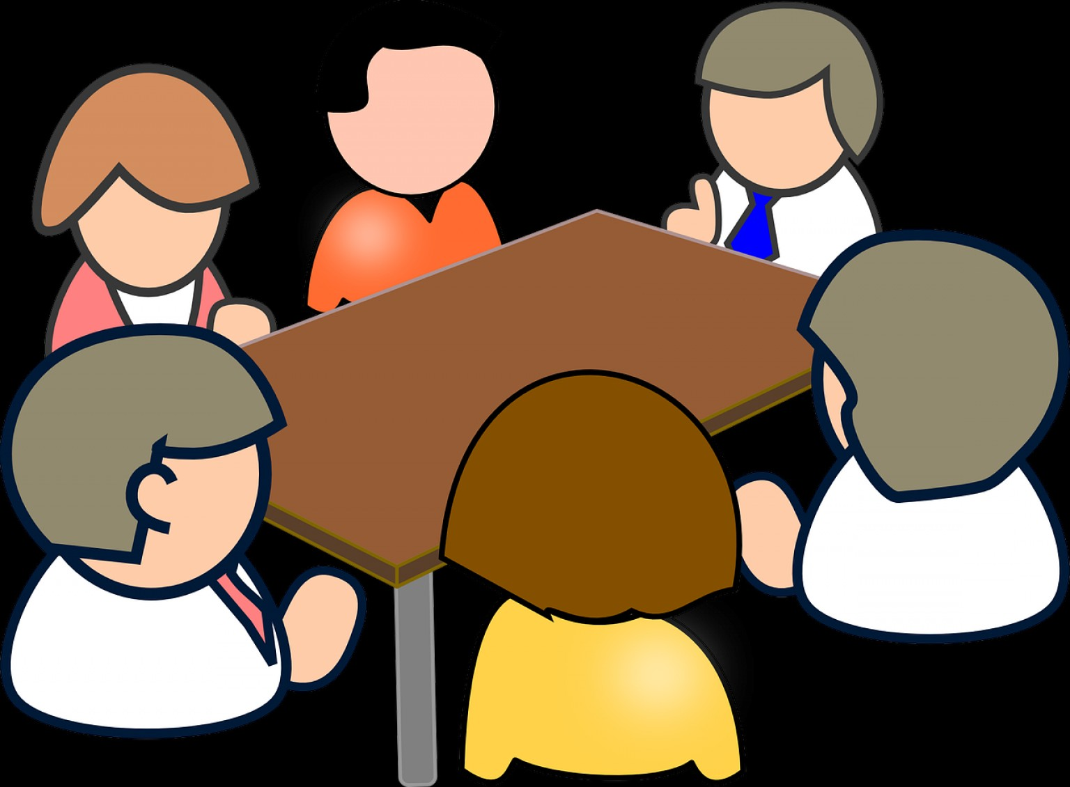 Committee Clipart -Vector: Role And Responsibilities Of A Safety Committee