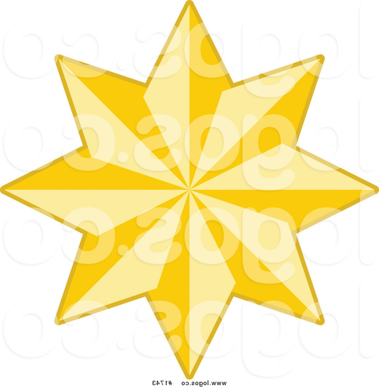 Stars Yellow Christmas Vector: Royalty Free Golden Yellow Christmas Star Logo By Kj Pargeter