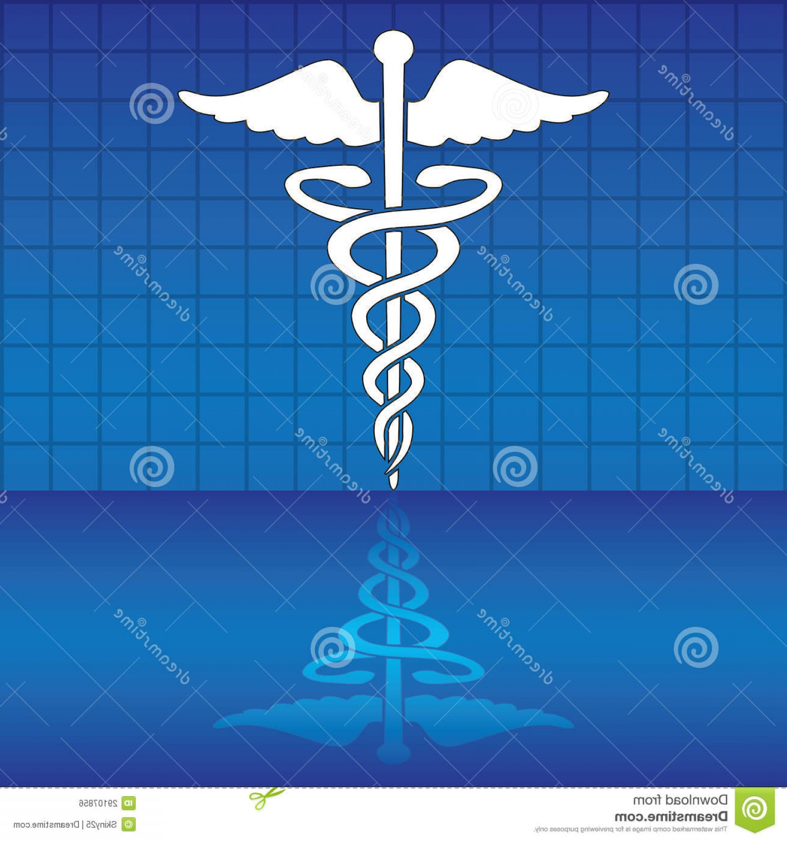 Medical Scepter Vector: Royalty Free Stock Image Caduceus Medical Symbol Vector Illustration Image