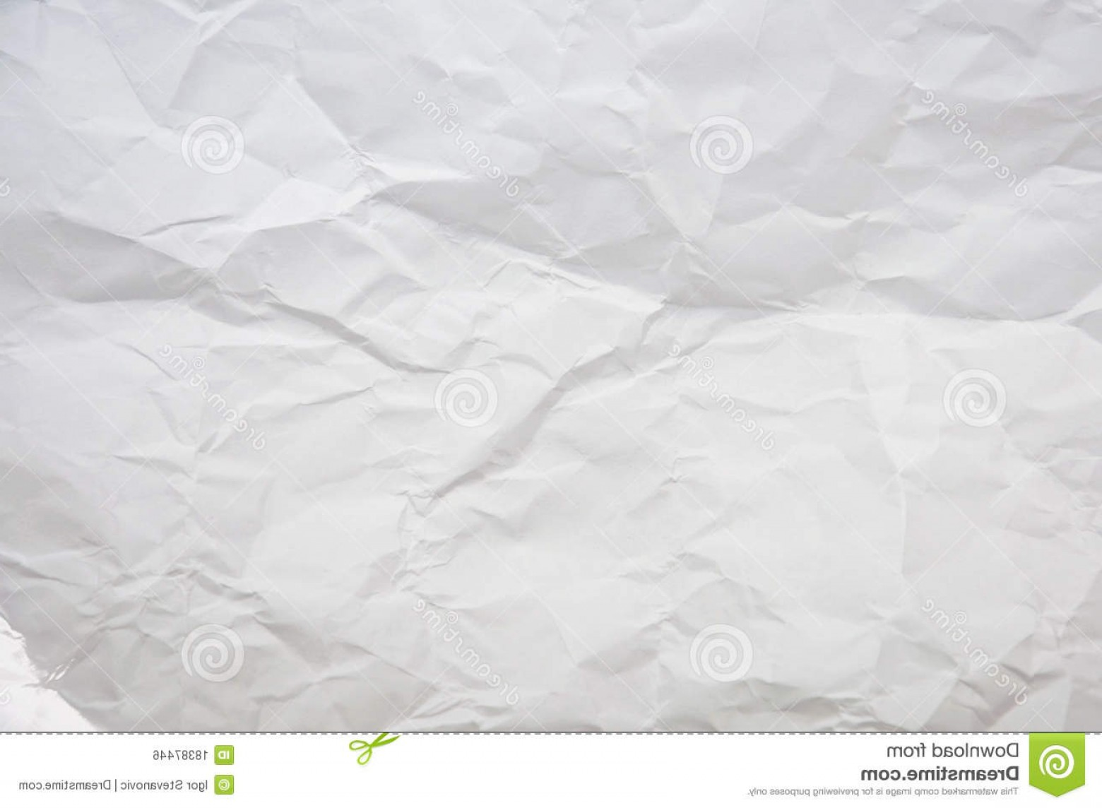 Crinkled Paper Vector: Royalty Free Stock Image Crinkled Paper Image