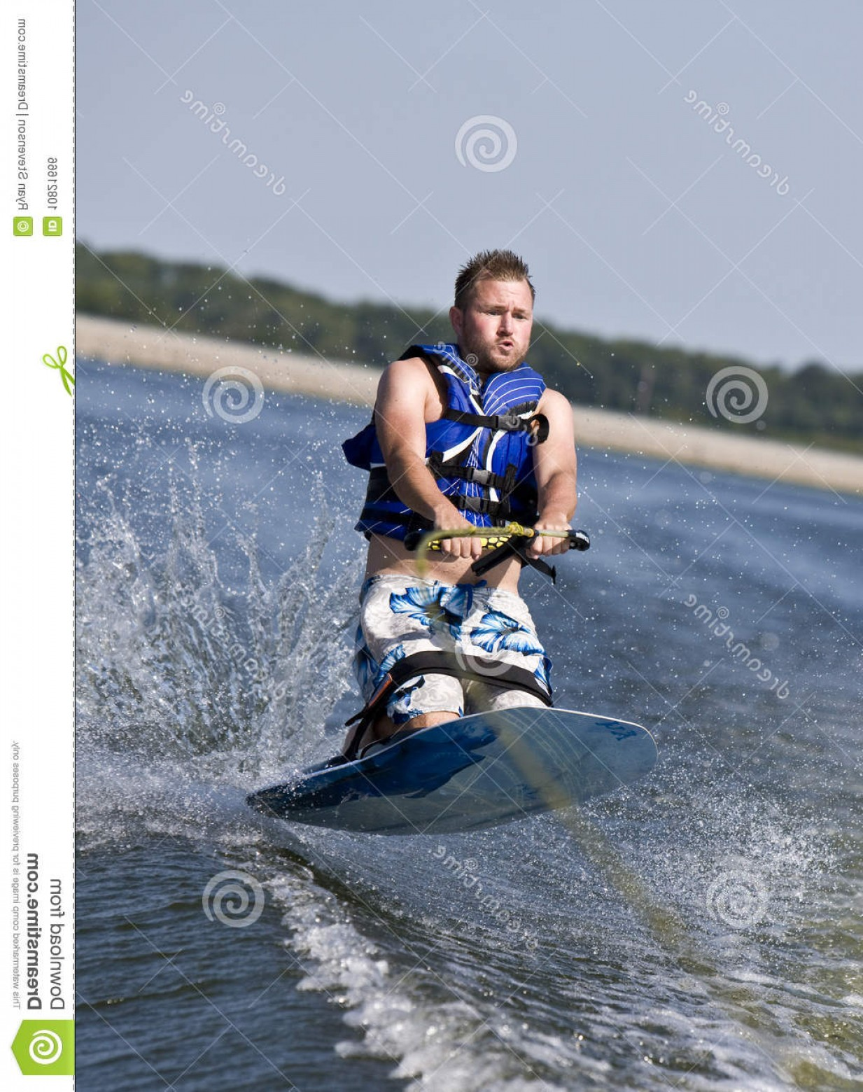 Knee Board Vector: Royalty Free Stock Image Knee Boarding Image
