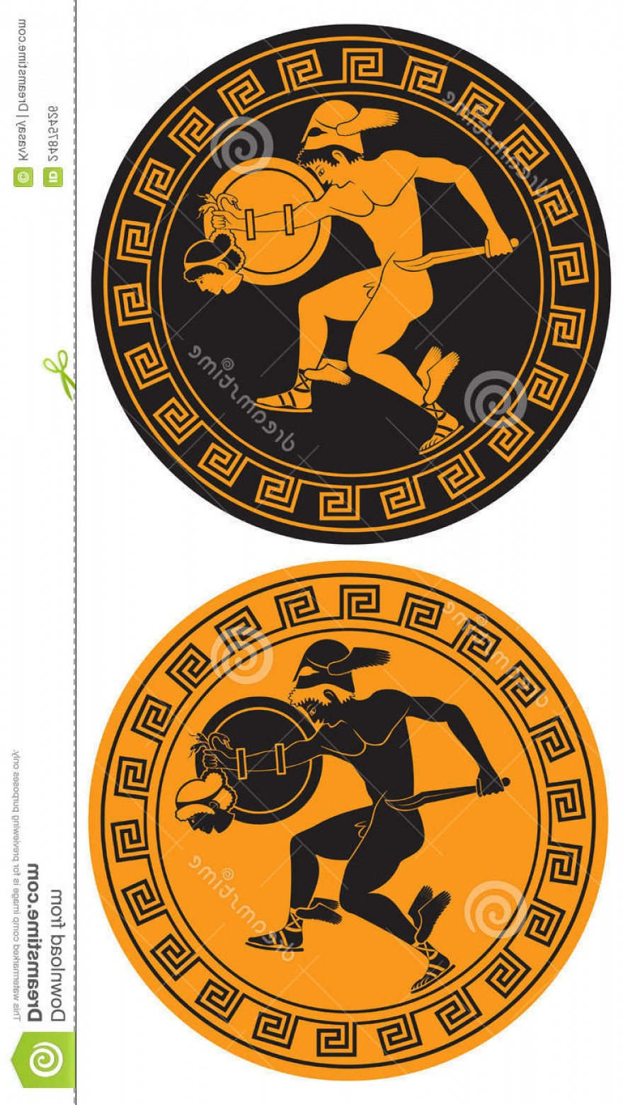 Perseus Vector Logo: Royalty Free Stock Image Mythical Hero Perseus Image