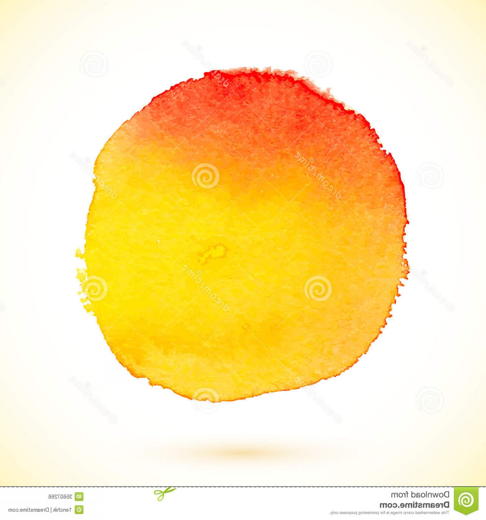 Orange Watercolor Vector Free: Royalty Free Stock Image Orange Vector Isolated Watercolor Paint Circle Textured Image
