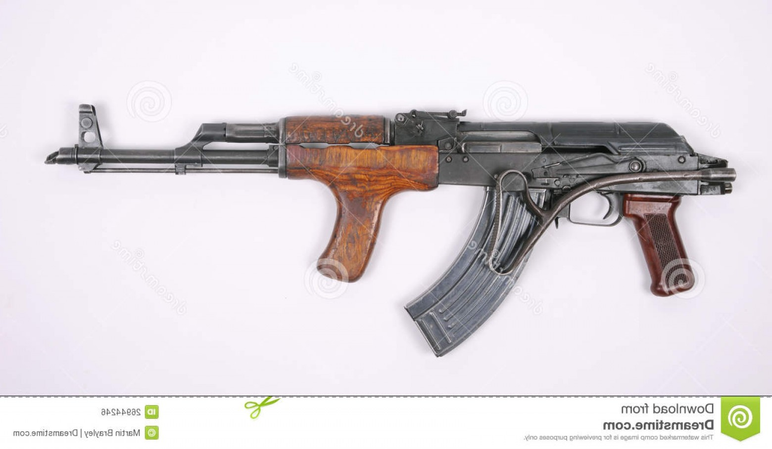Nato Assault Rifles Vector Graphics: Royalty Free Stock Image Romanian Assault Rifle Ak Image