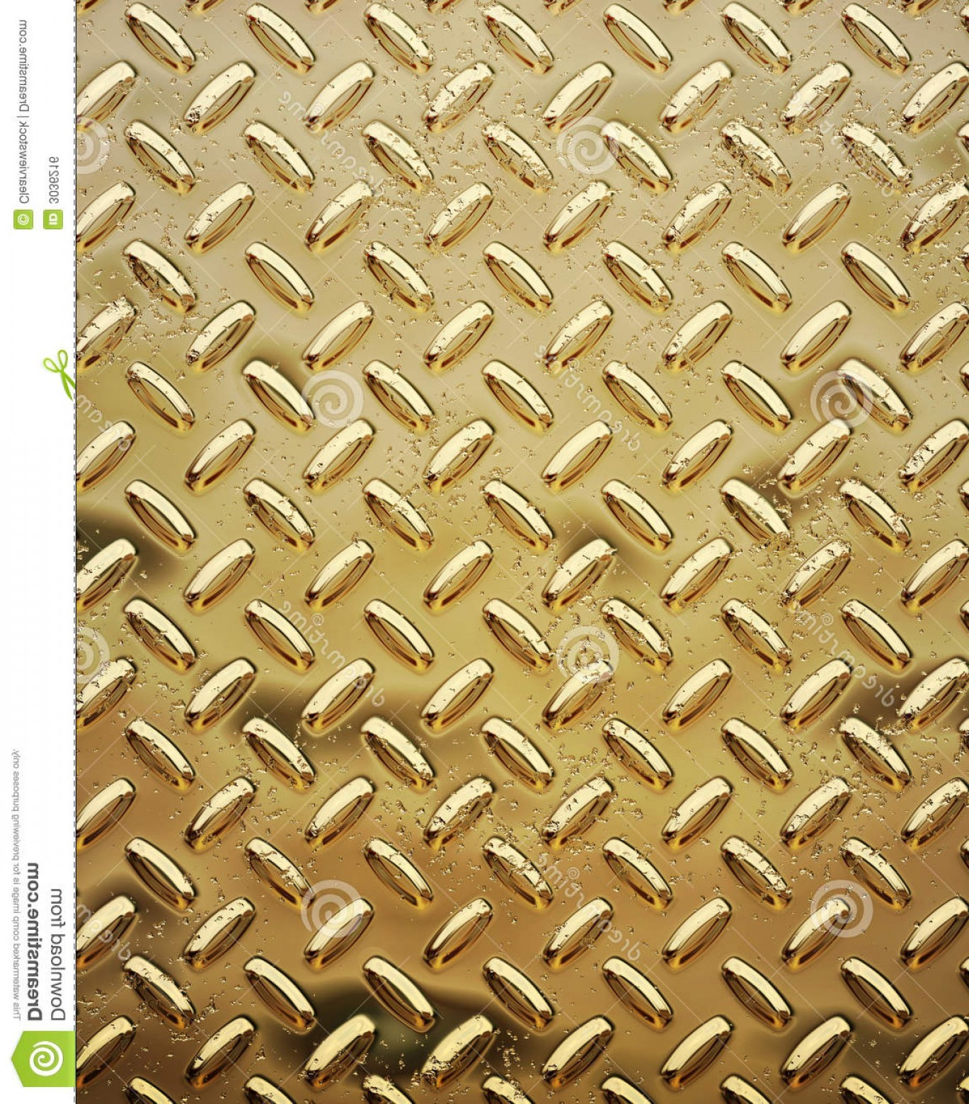 Tread Plate Vector: Royalty Free Stock Image Rough Gold Diamond Plate Image