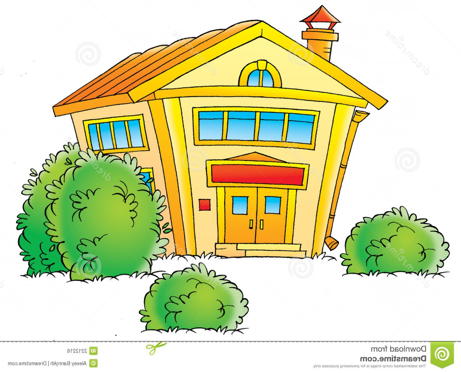 Vector Clip Art Red Schoolhouse: Royalty Free Stock Image Schoolhouse Image