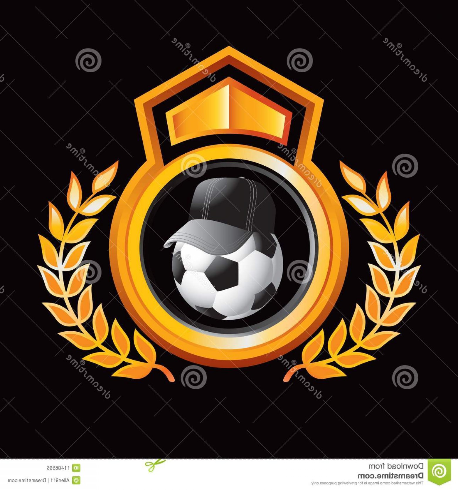 Coach Gold Logo Vector: Royalty Free Stock Image Soccer Coach Gold Royal Display Image