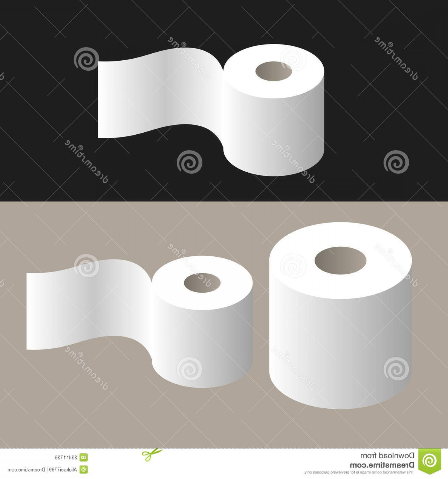 Toilet Paper Vector: Royalty Free Stock Image Toilet Paper Vector Illustration Eps Image