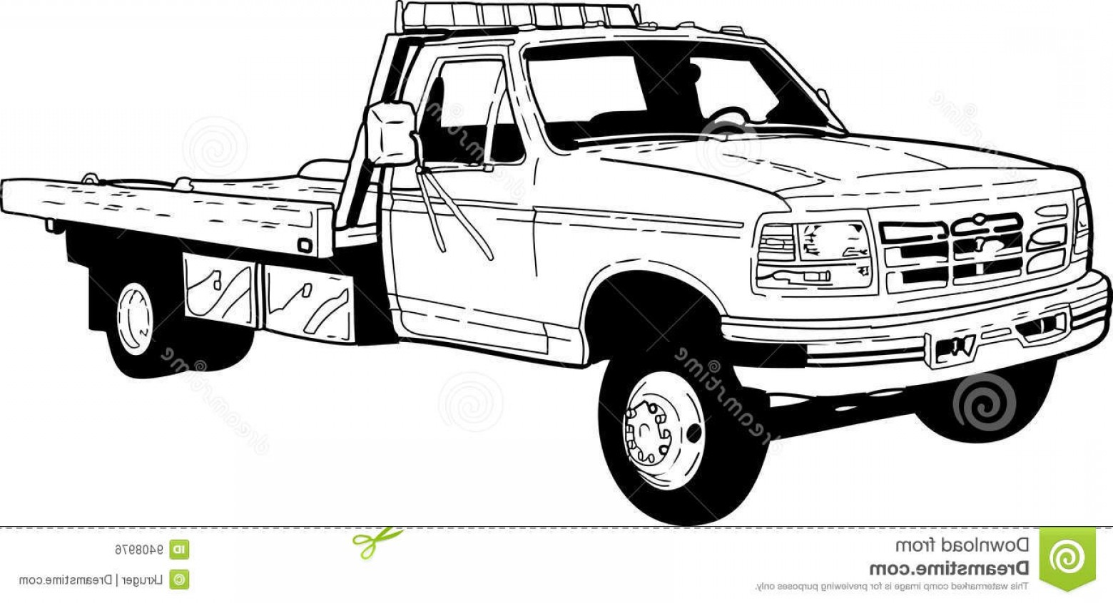 Towing Vector Clip Art: Royalty Free Stock Image Tow Truck Image