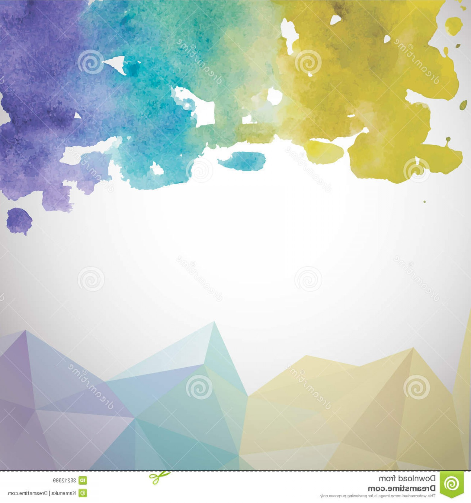 Watercolor Vector Background Free: Royalty Free Stock Images Abstract Hand Drawn Watercolor Background Vector Template Eps Illustration Image