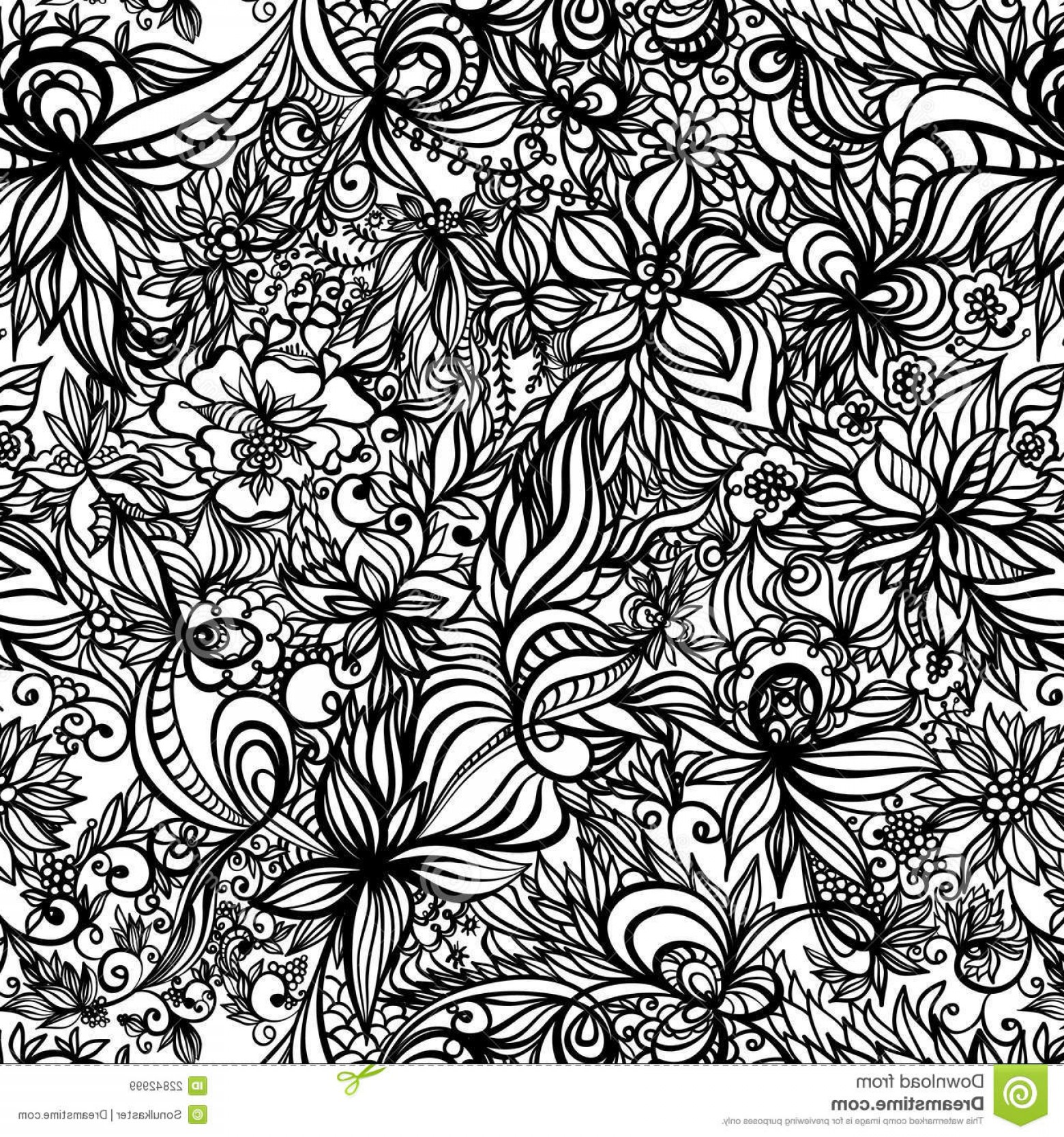 Beautiful Patterns Vector: Royalty Free Stock Images Beautiful Vector Seamless Pattern Image