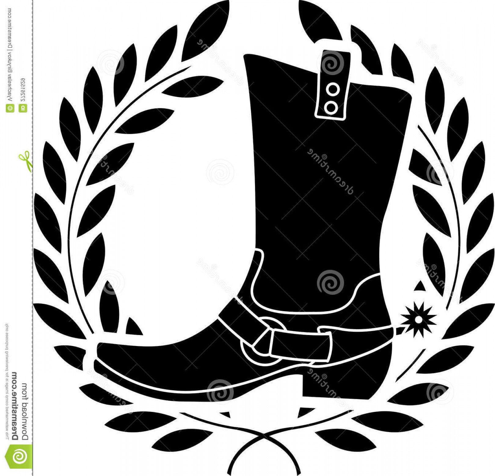 Spurs Clip Art Vector: Royalty Free Stock Images Boot Spurs Image