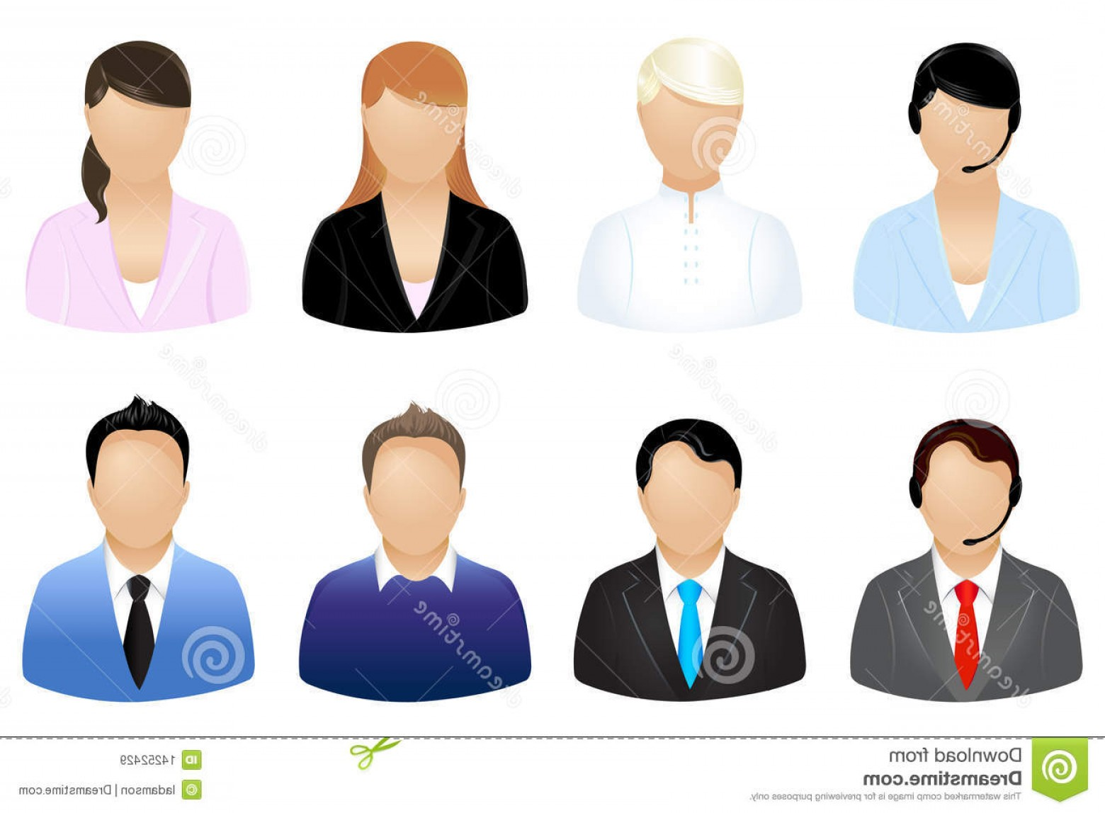 Free Vector Business People Icon: Royalty Free Stock Images Business People Icons Vector Image