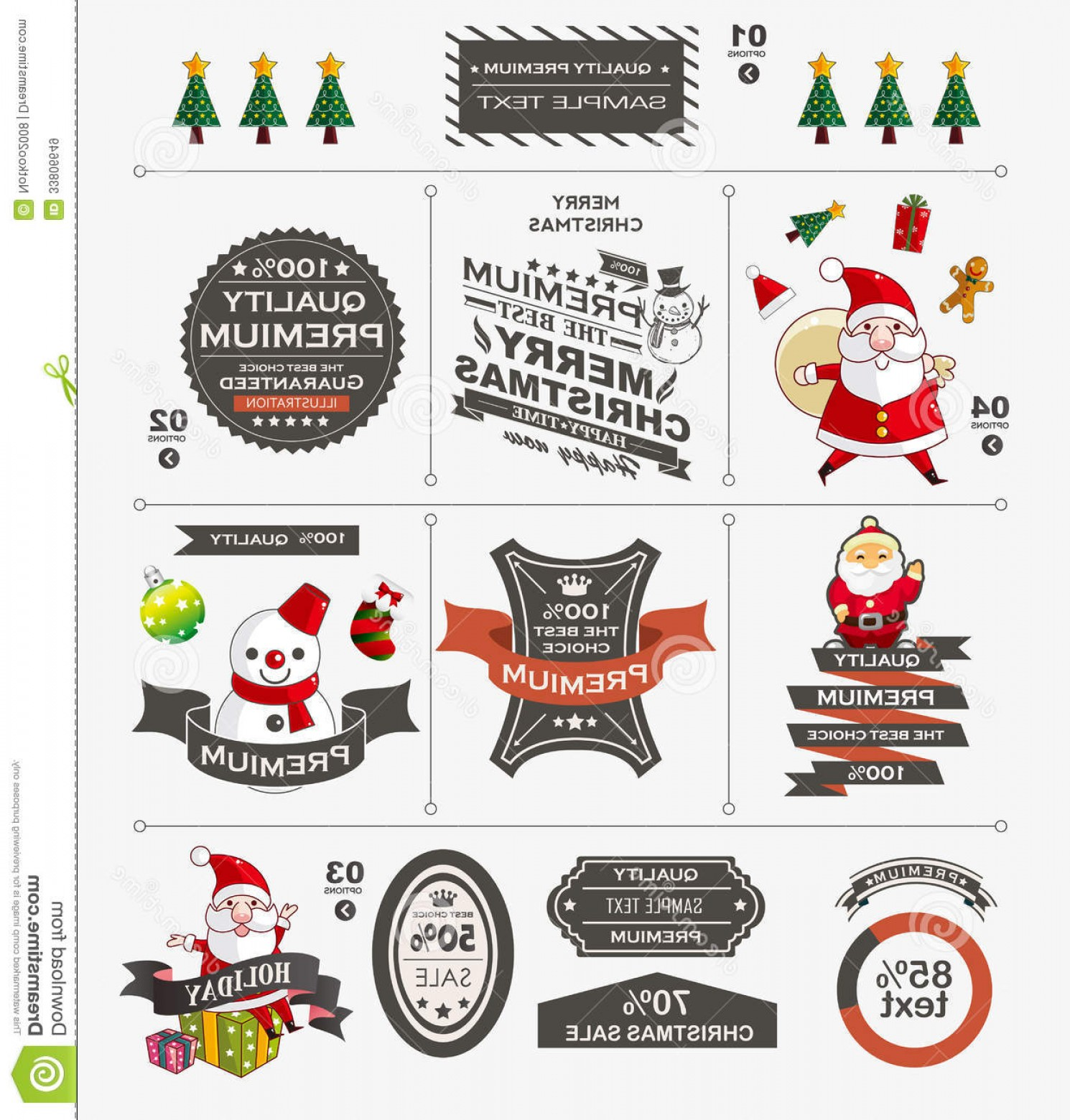 Free Vectors Christmas Vintage Royalty Free Stock Images Christmas Vintage