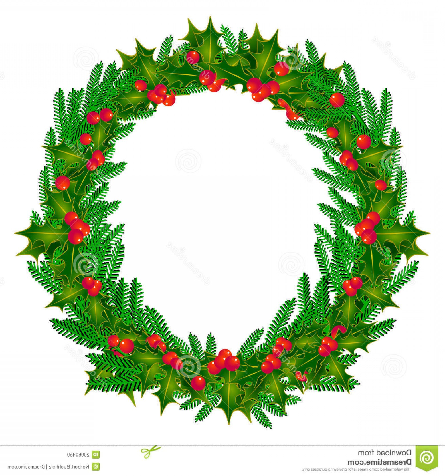 Advent Wreath Vector: Royalty Free Stock Images Decorative Advent Wreath Image