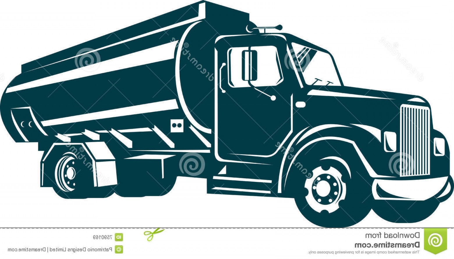 Tank Trucks Vector Art: Royalty Free Stock Images Fuel Oil Tanker Truck Image