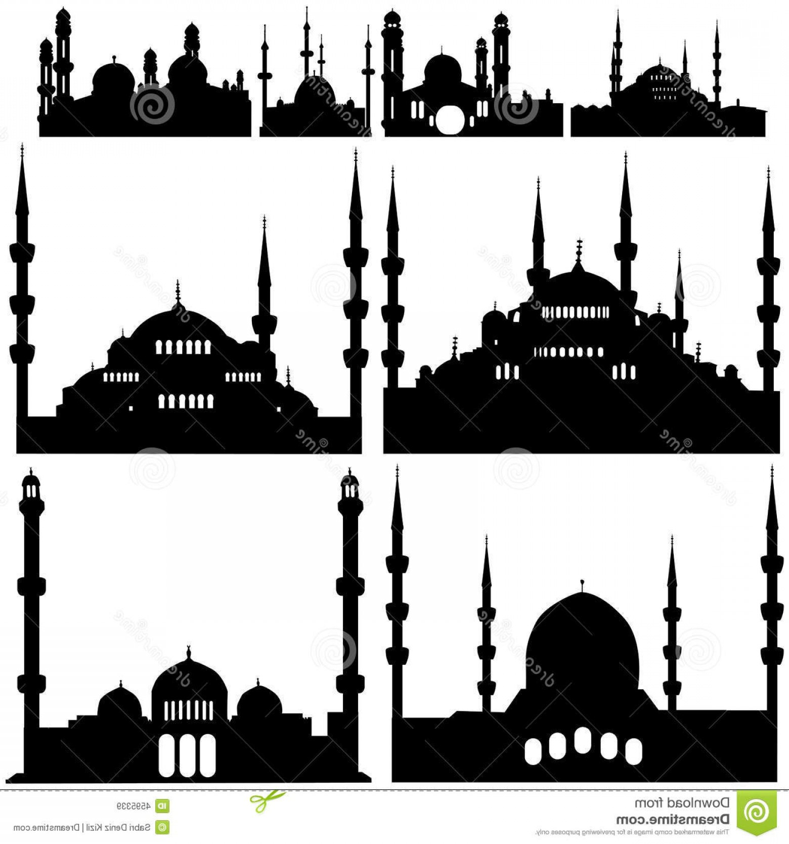 Mosque Vector Map: Royalty Free Stock Images Mosque Vector Image
