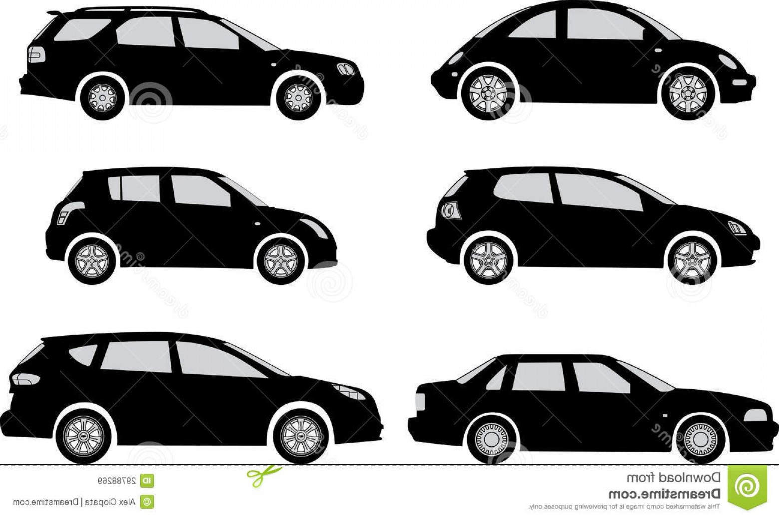 Car Silhouette Vector Free: Royalty Free Stock Images Silhouette Cars White Background Vector Illustration Image