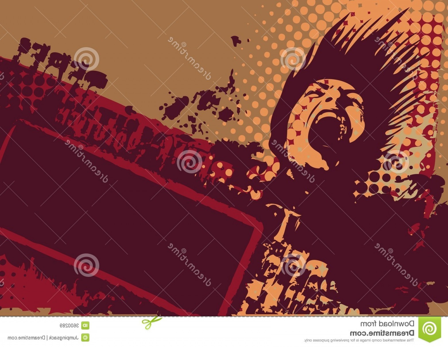 Grunge Background Vector Graphic: Royalty Free Stock Images Vector Grunge Background Image