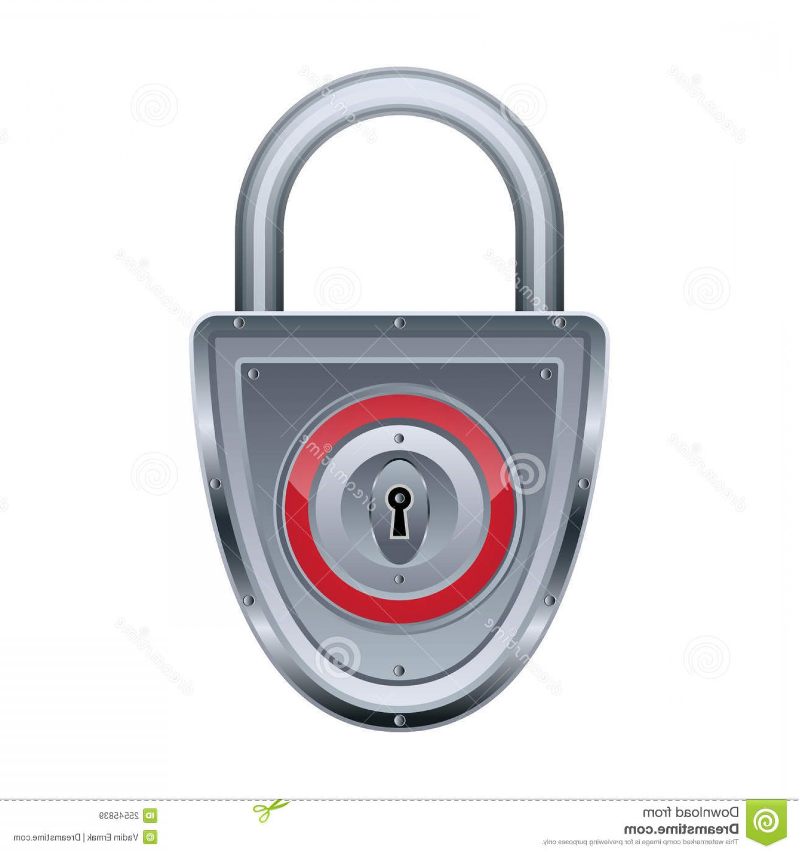 Vector Lock White: Royalty Free Stock Images Vector Lock Image