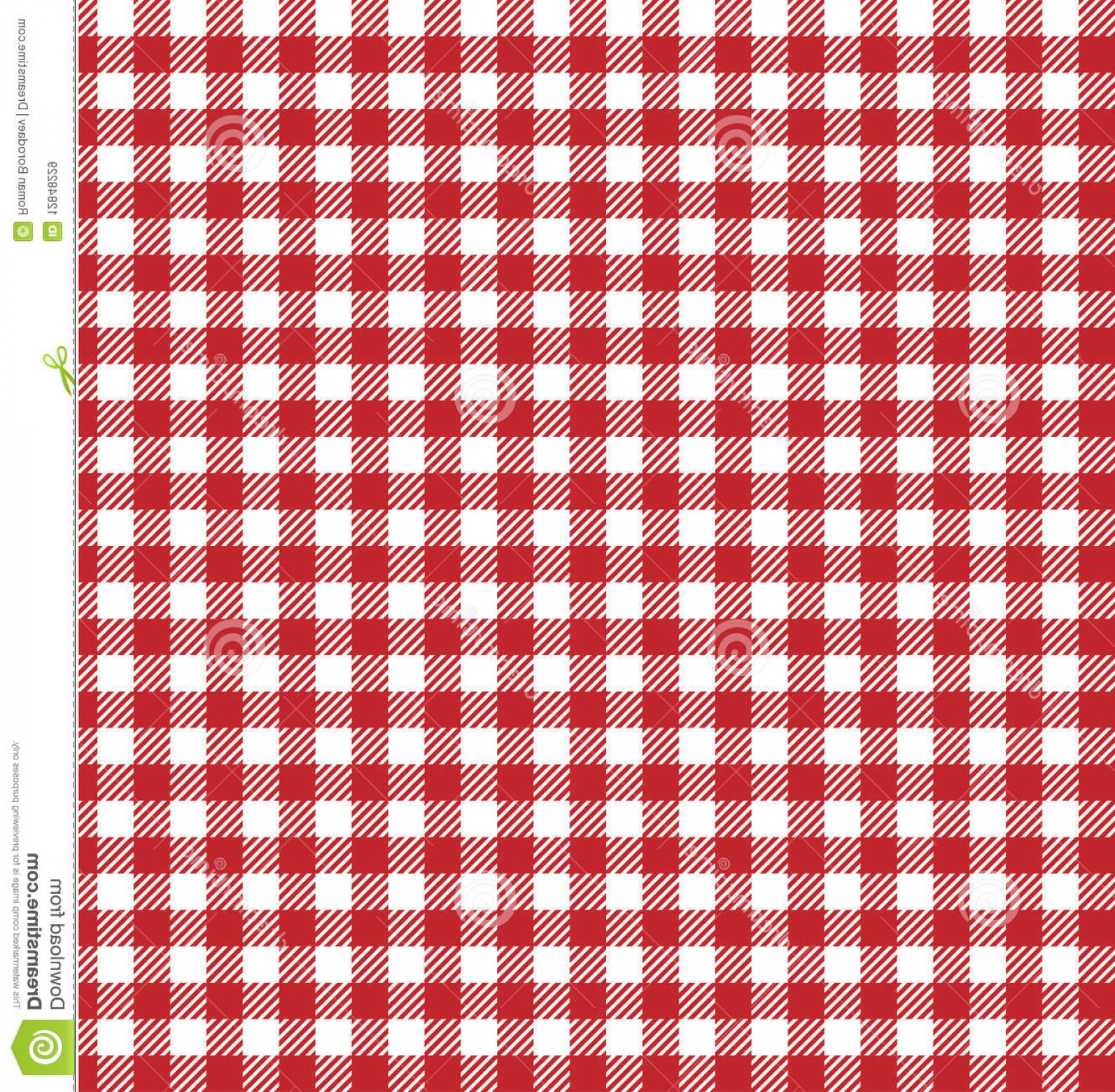 Fabric Vector Background: Royalty Free Stock Images Vector Picnic Background Image
