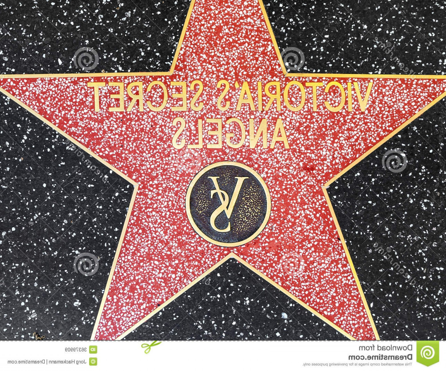 Victoria's Secret Pink Vector: Royalty Free Stock Images Victoria S Secret Angels Star Hollywood Walk Fame Los Angeles June June California Located Image