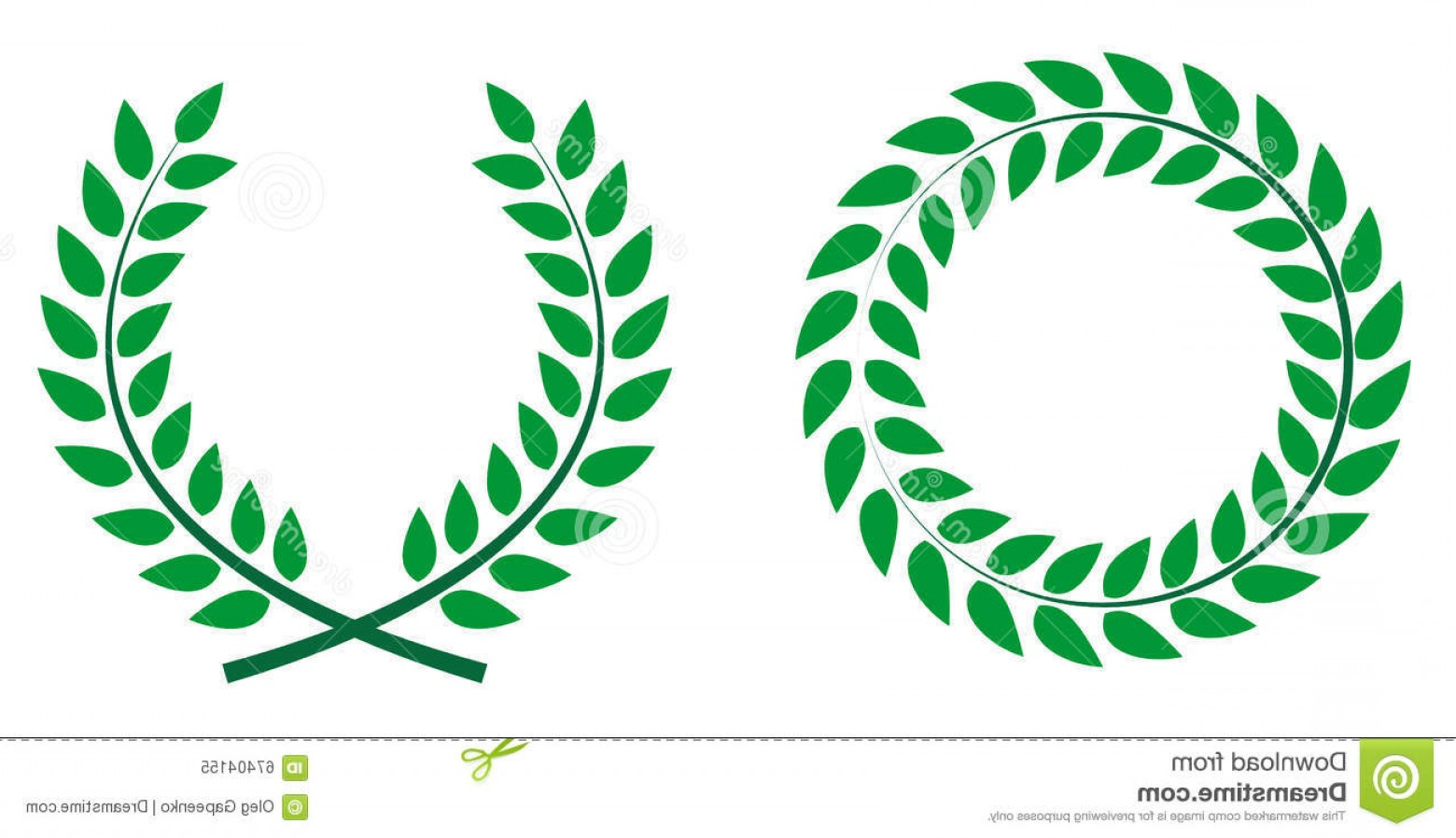 Award Vector Leaves: Royalty Free Stock Images Victory Wreath Image