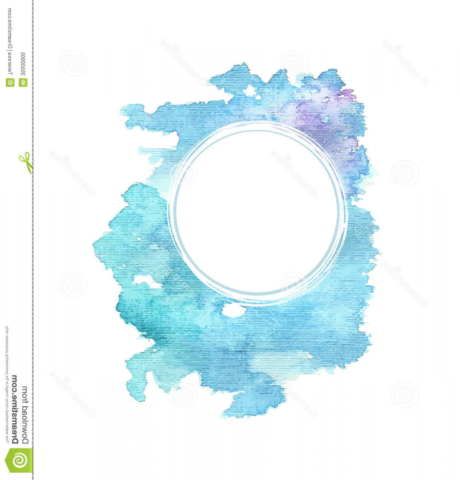 Watercolor Vector Background Free: Royalty Free Stock Photo Abstract Blue Watercolor Background Editable Vector Illustration Image