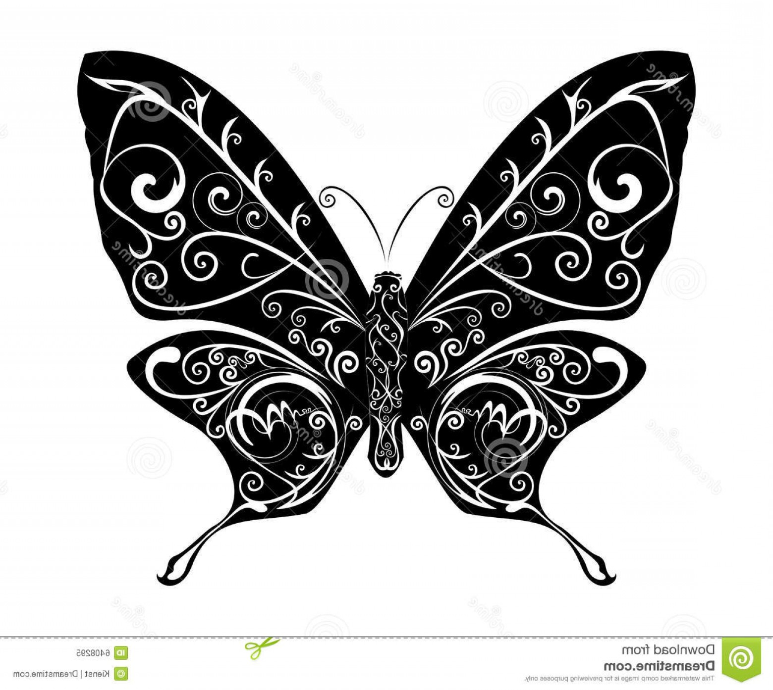 Butterly Vector: Royalty Free Stock Photo Abstract Butterfly Vector Image