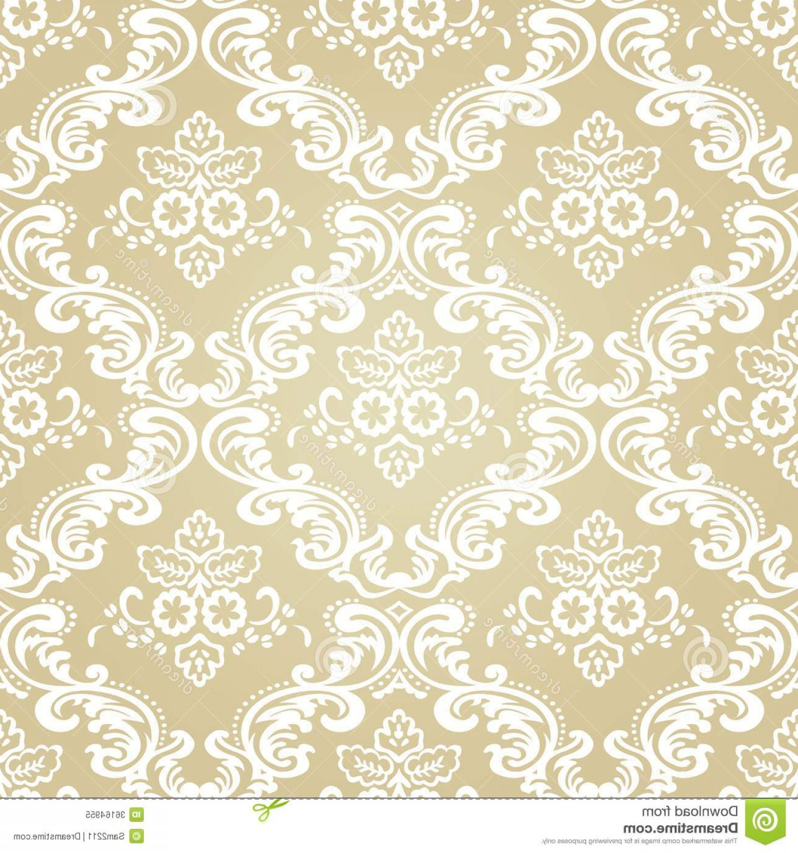 Damask Background Vector Art: Royalty Free Stock Photo Damask Vintage Floral Seamless Pattern Background Vector Illustration Image