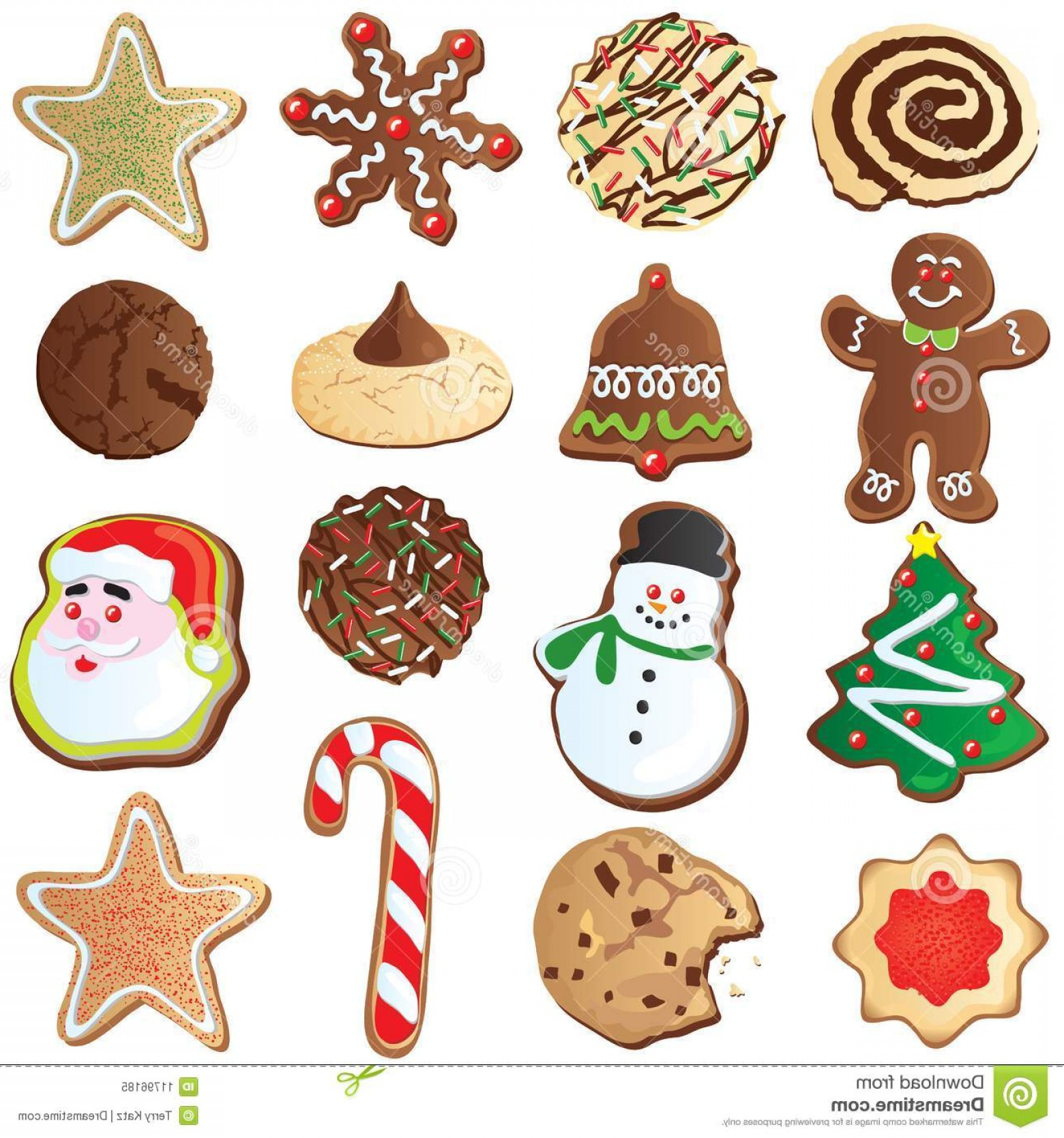 Vectors Holiday Baking: Royalty Free Stock Photo Days Cute Christmas Cookies Image