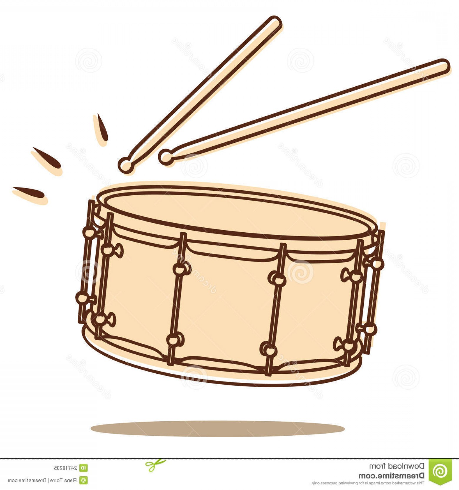 Drum Vector Art: Royalty Free Stock Photo Drum Vector Image