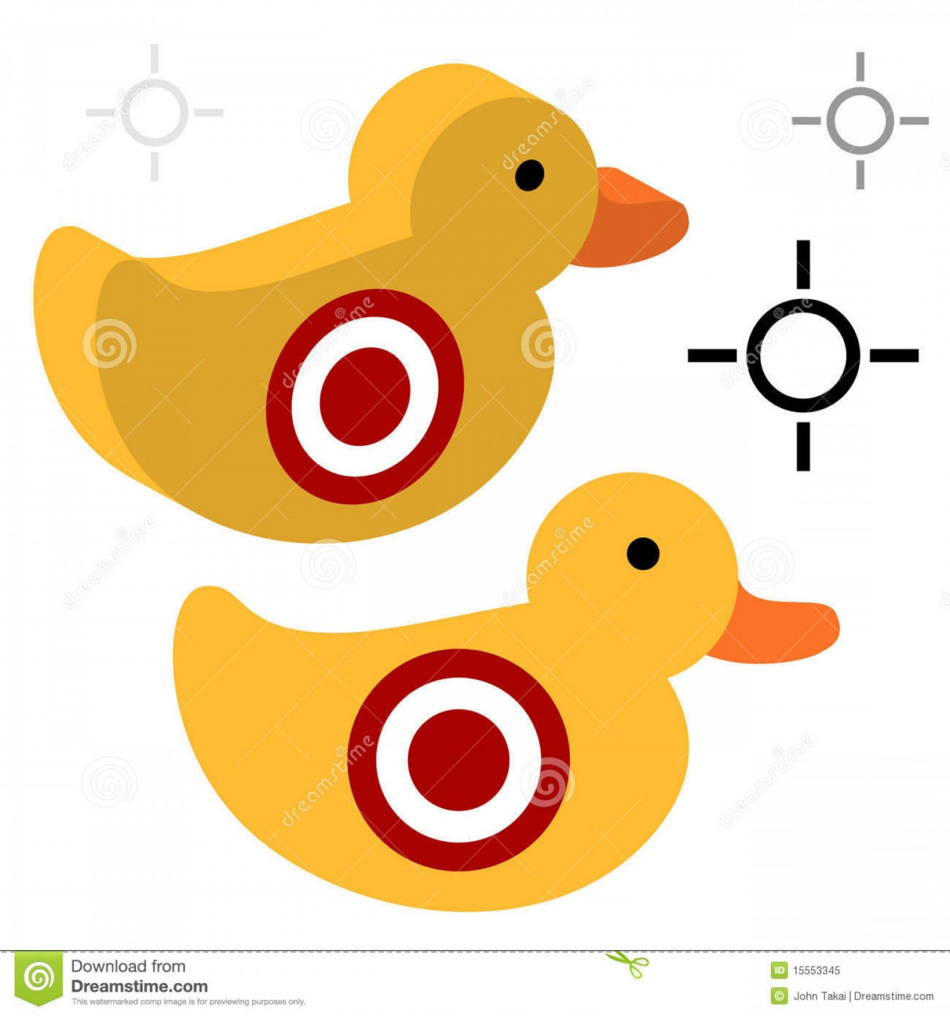 Shot Duck Outline Vector: Royalty Free Stock Photo Duck Shooting Target Image