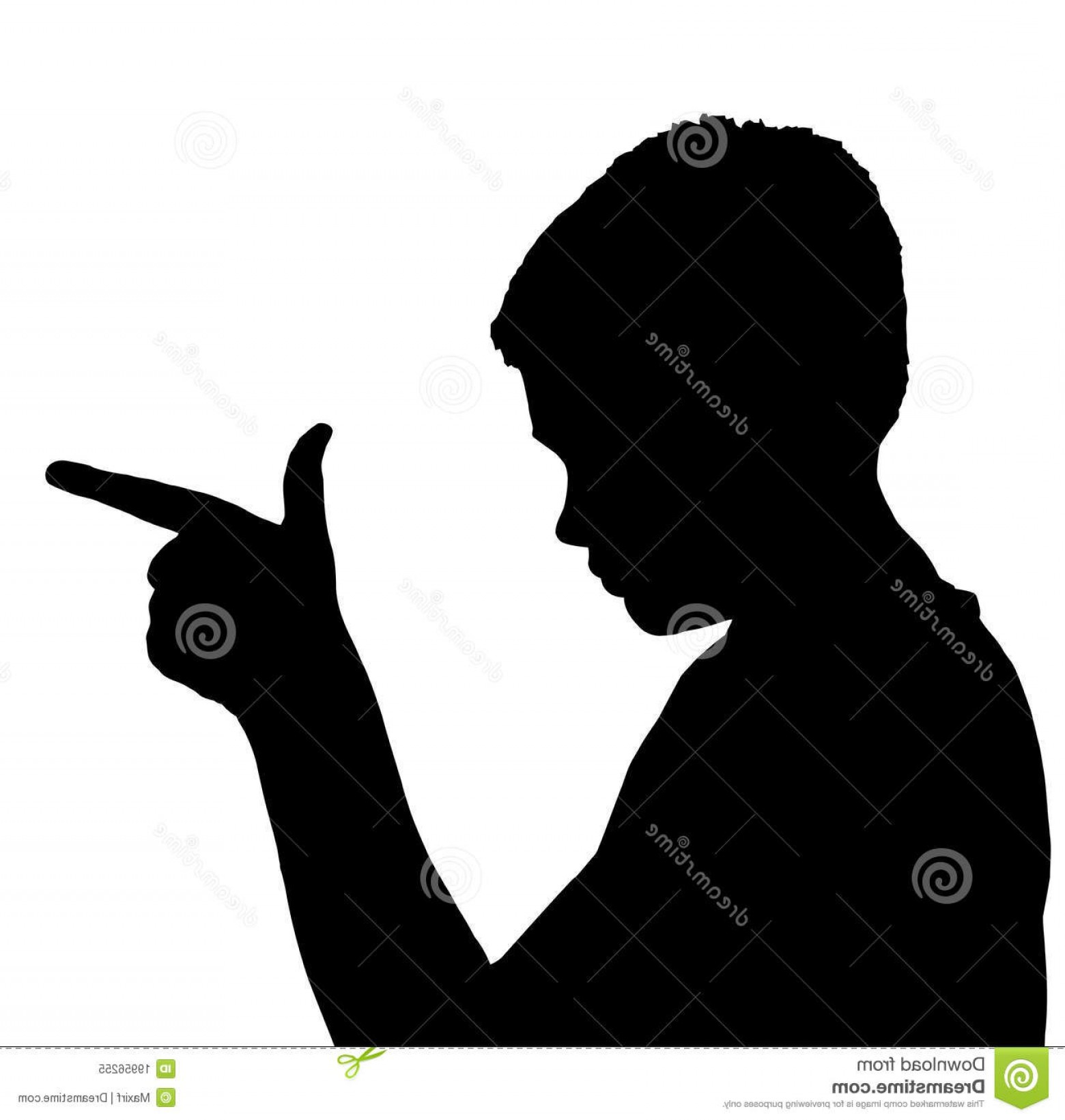 Finger Gun To Head Vector: Royalty Free Stock Photo Isolated Boy Child Gesture Gun Finger Image