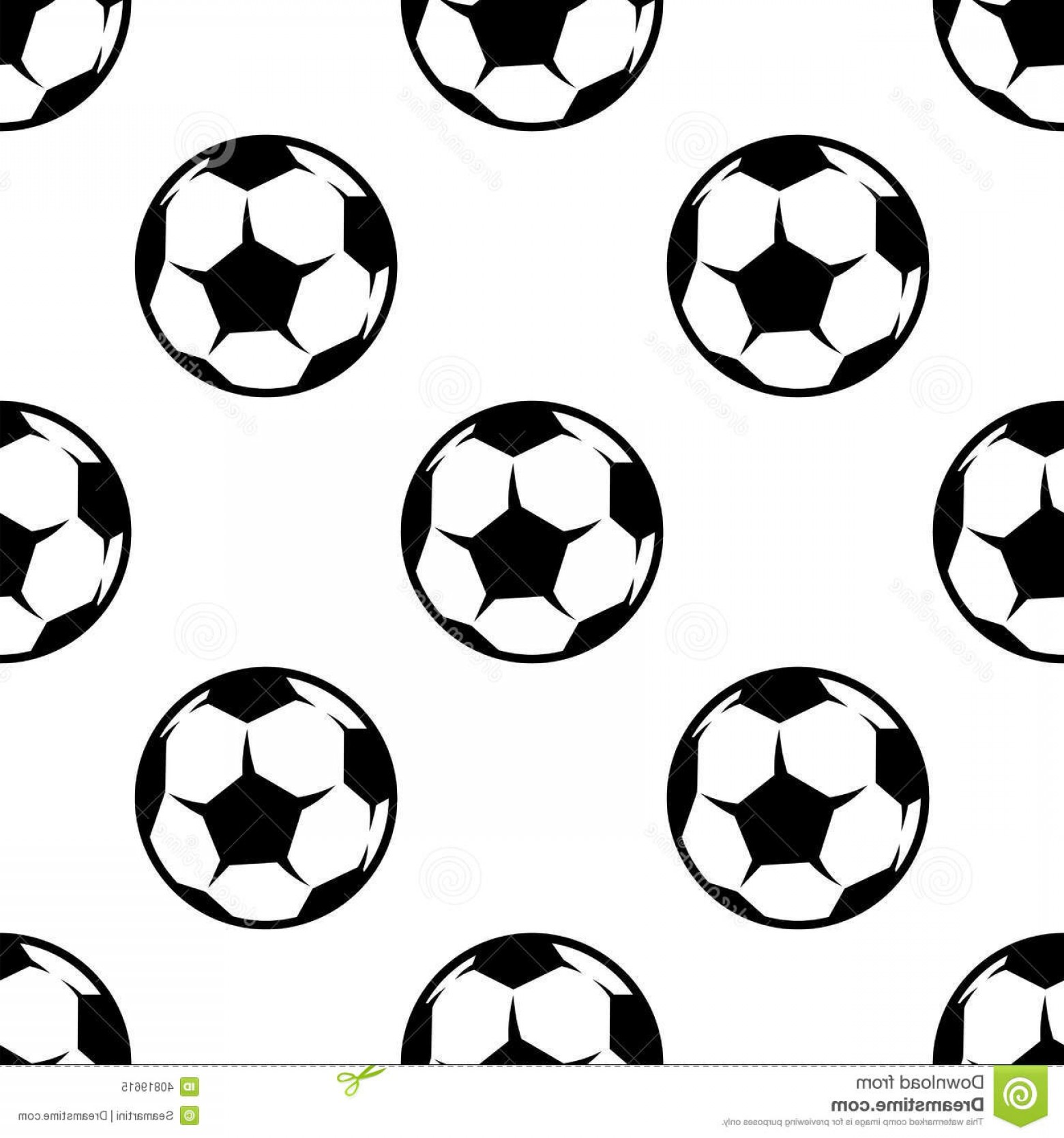 Football Vector Wallpaper: Royalty Free Stock Photo Soccer Football Seamless Pattern Sports Balls Background Wallpaper Textile Design Image