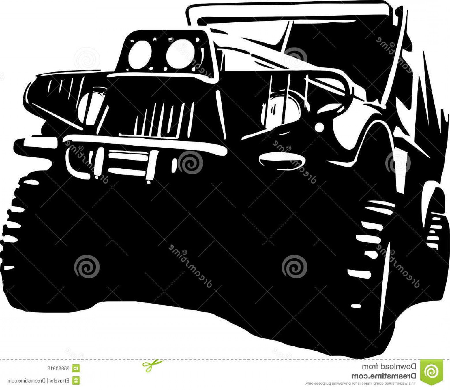 Jeep Off-Road Vector Art: Royalty Free Stock Photo Suv Jeep Off Road Image