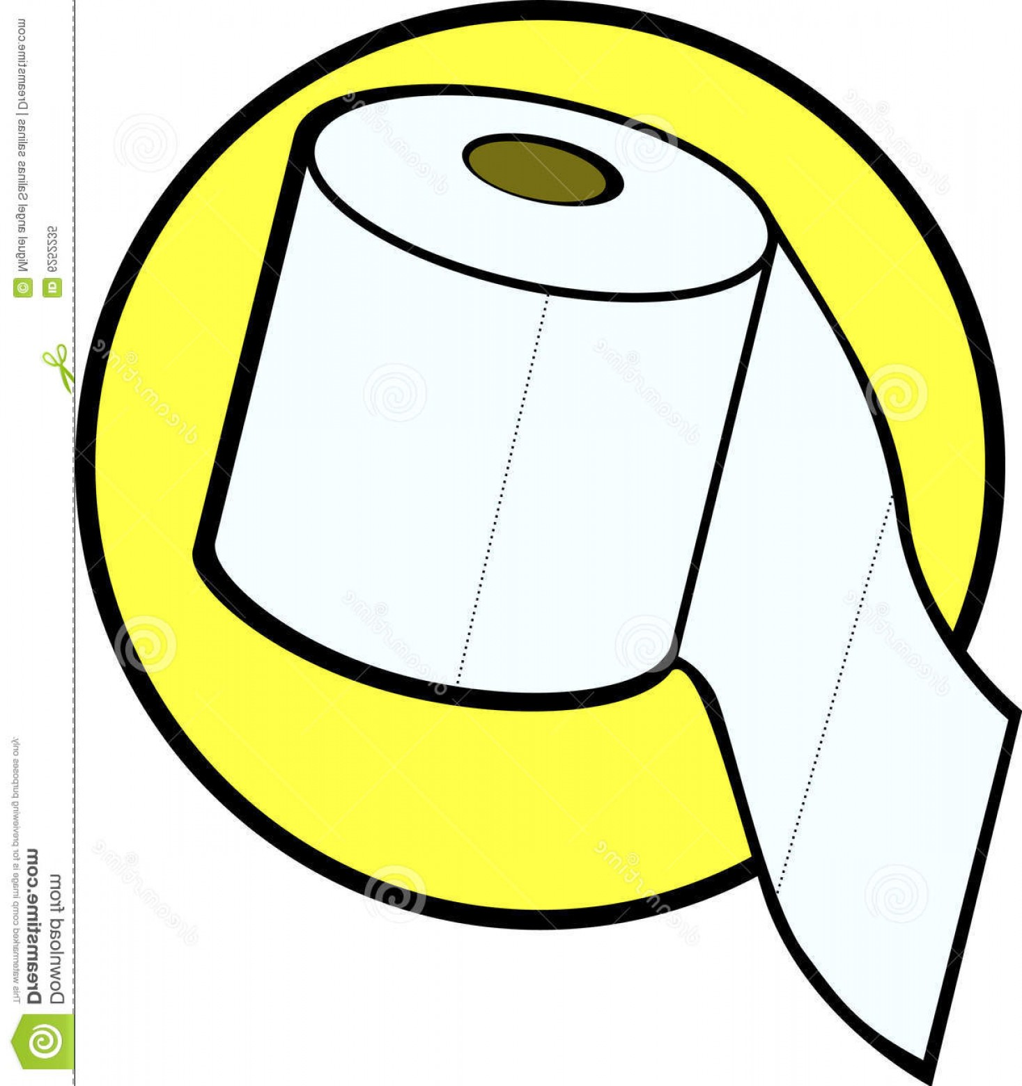 Toilet Paper Vector: Royalty Free Stock Photo Toilet Paper Roll Vector Illustration Image