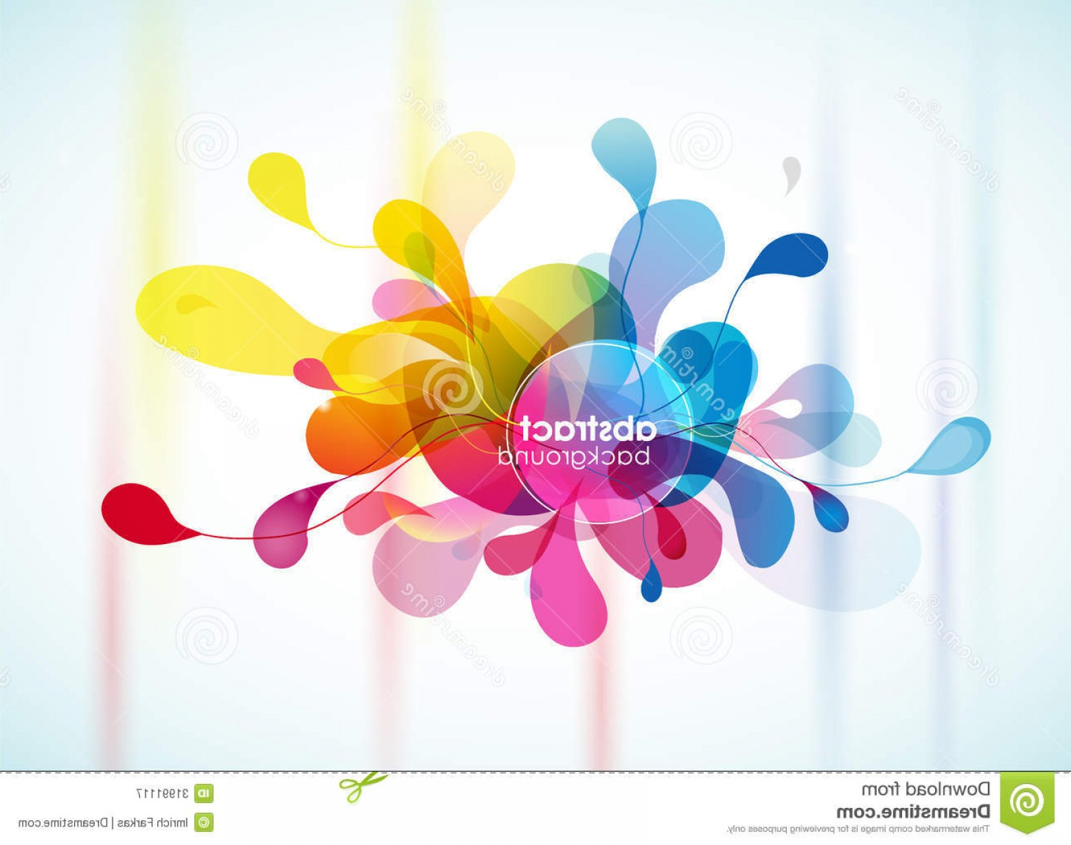 Royalty Free Stock Photography Abstract Colorful Background