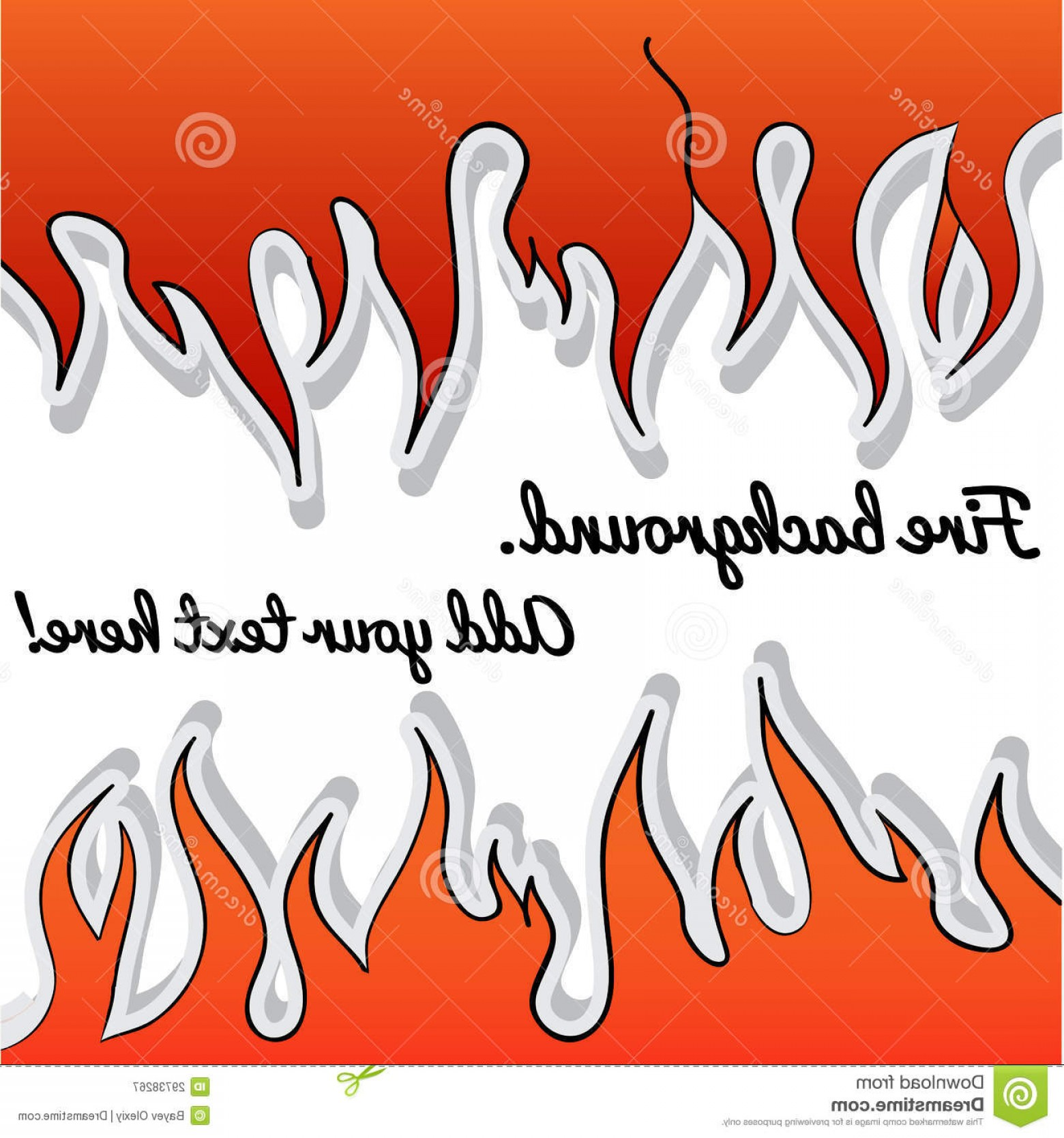 Vector Flame Stick Pattern: Royalty Free Stock Photography Background Stick Fire Place Your Text Image