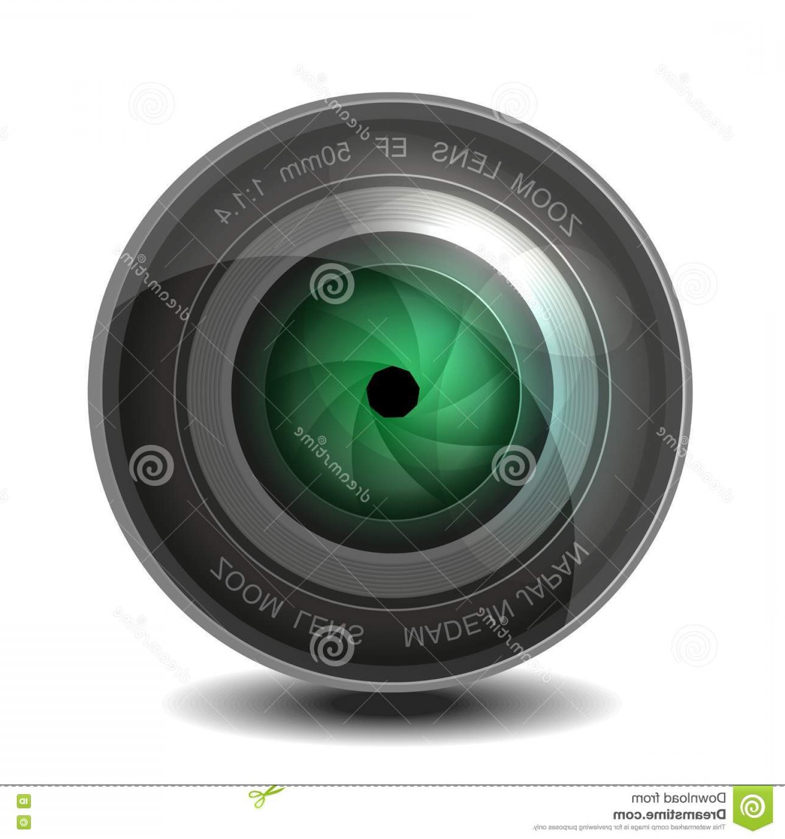 Hires Camera Lens Vector: Royalty Free Stock Photography Camera Photo Lens Shutter Vector Eps Image