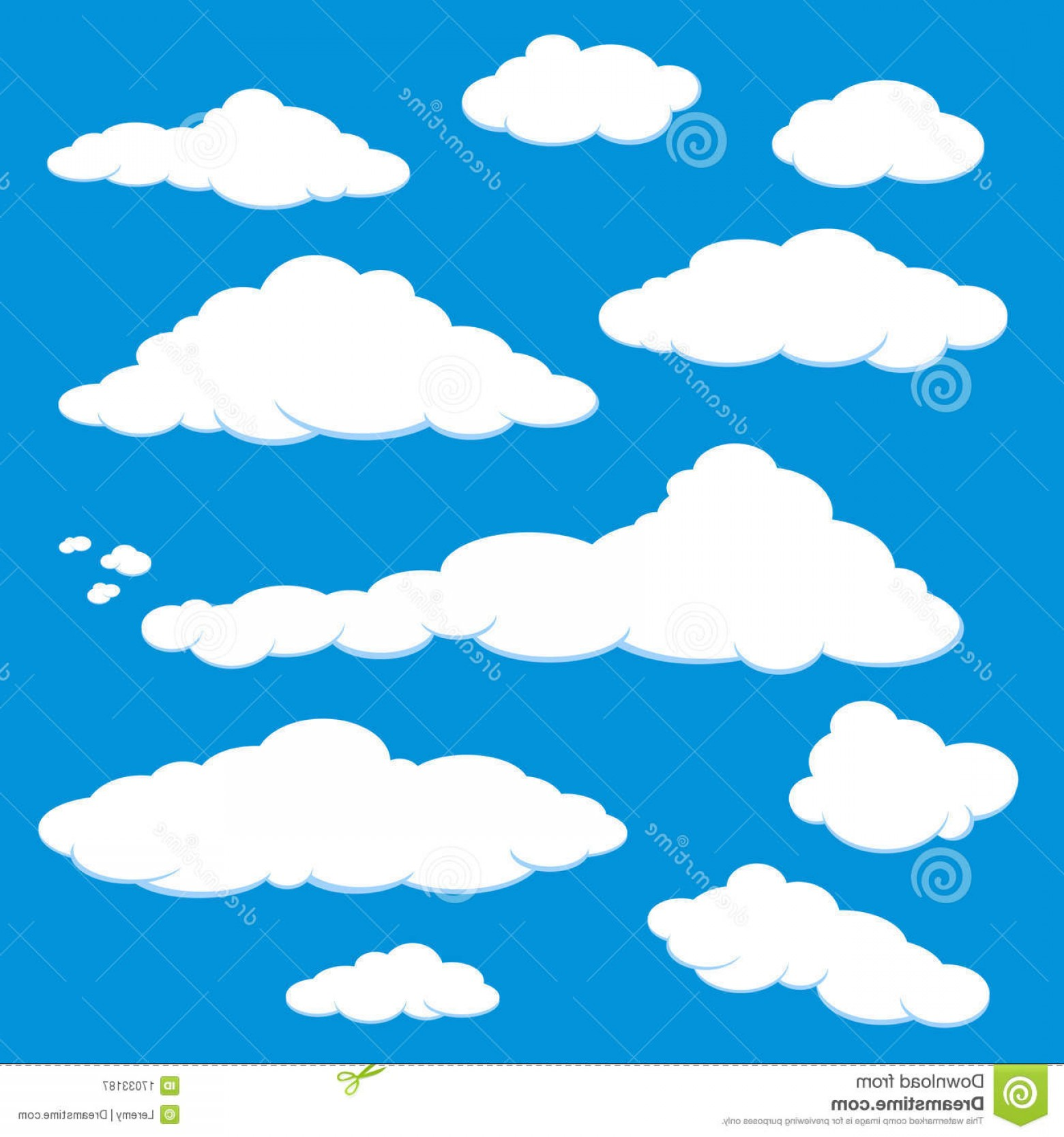 Users SkyVector.com: Royalty Free Stock Photography Cloud Blue Sky Vector Image