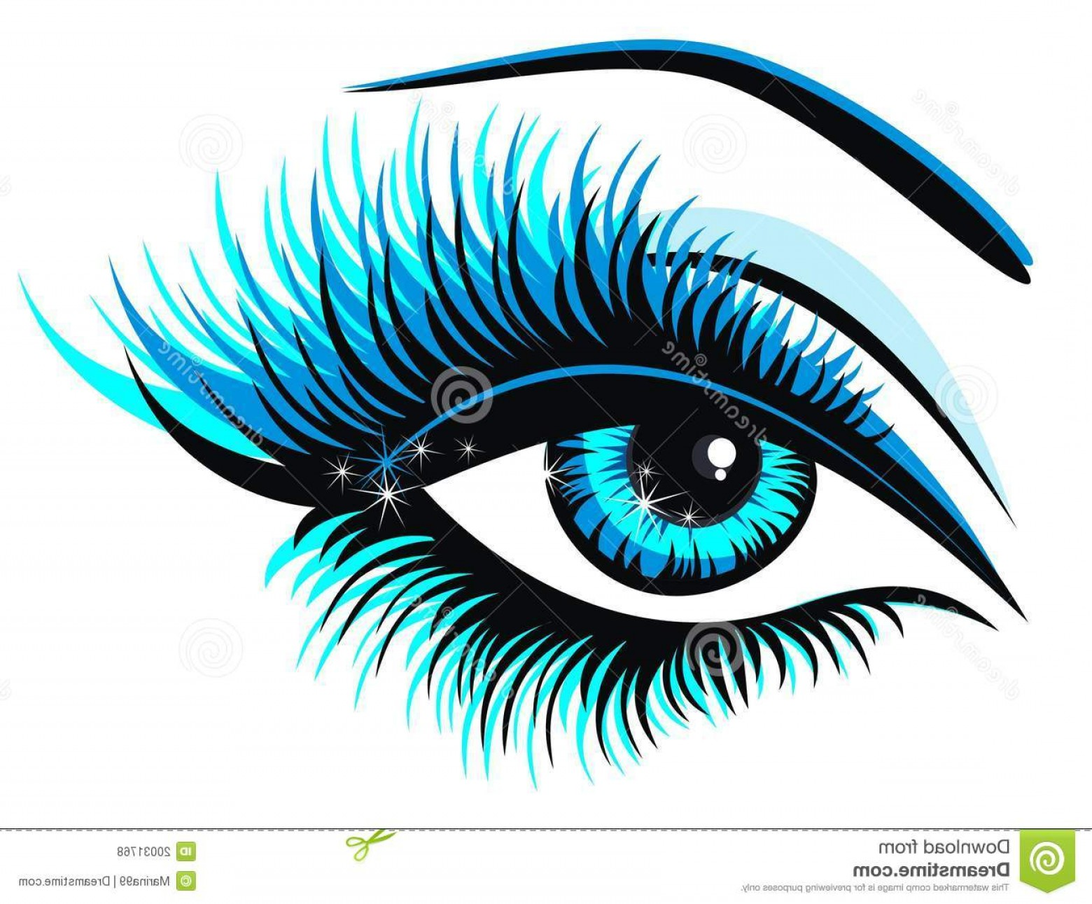 Green Cartoon Eyes Vector Png: Royalty Free Stock Photography Green Eye Vector Illustration Image